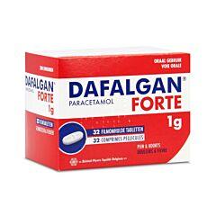 Dafalgan Forte Adultes 1g 32 Comprimés Pelliculés