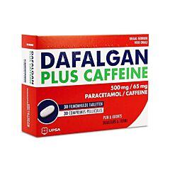 Dafalgan Plus Caffeine 500mg/65mg 30 Tabletten
