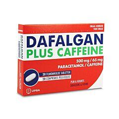 Dafalgan Plus Caffeïne 500mg/65mg 20 Tabletten