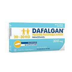 Dafalgan Pediatrie 300mg 12 Zetpillen