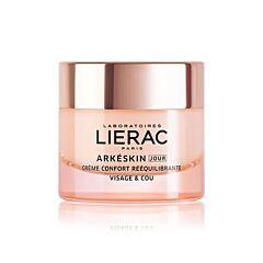 Lierac Arkéskin Jour Crème Confort Rééquilibrante Visage & Cou Ménopause Pot 50ml