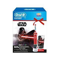 Oral-B Kids D100 Star Wars Elektrische Tandenborstel 1 Stuk + GRATIS Beker