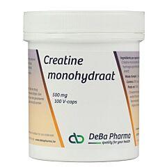 Deba Pharma Monohydrate de Creatine 500mg 100 V-Capsules