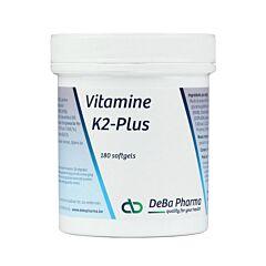 Deba Pharma Vitamine K2-plus 180 Softgels