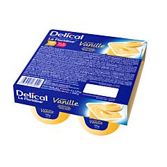 Delical Crème Dessert HP-HC La Floridine Vanille Pot 4x125g