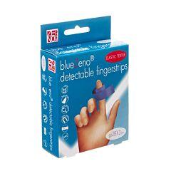 BlueZeno Detectable Fingerstrips 18x3cm 20 Pièces