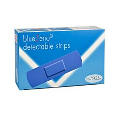 BlueZeno Detectable Strips 7,5x2,5cm 100 Pièces