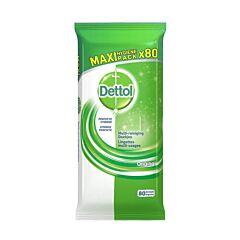 Dettolpharma Original Lingettes Multi-Usages 80 Pièces
