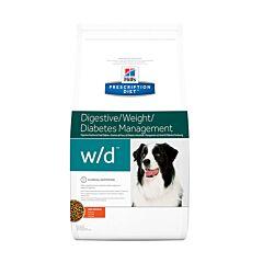Hills Prescription Diet Canine - Digestive/Weight/Diabetes Management w/d - Poulet 12kg