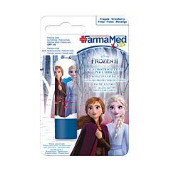 FarmaMed Kids Disney Reine des Neiges II Baume à Lèvres Protecteur Fraise 4,8g