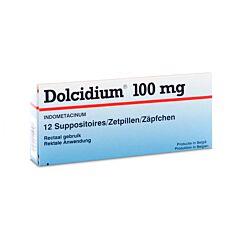 Dolcidium 100mg 12 Suppositoires