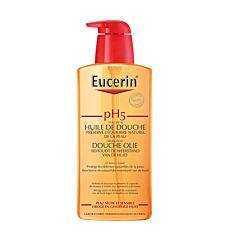 Eucerin pH5 Huile de Douche Peau Sèche & Sensible Flacon Pompe 400ml