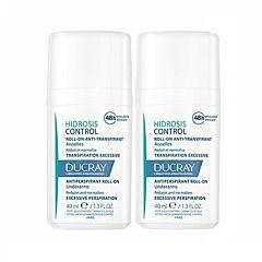 Ducray Hidrosis Control Anti-Transpirant Roll-on 2x40ml Promo 2de - 50%