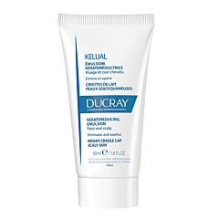 Ducray Kelual Emulsion Kératoréductrice Croûtes de Lait Peaux Sébosquameuses Tube 50ml