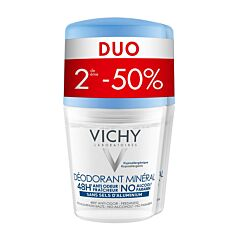 Vichy Déodorant Minéral 48h Roll-On PROMO Duo 2x40ml