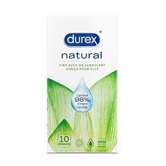 Durex Naturals 10 Préservatifs
