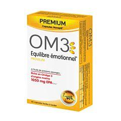 OM3 Equilibre Emotionnel Premium 45 Gélules
