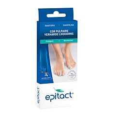 Epitact Doigtiers Cors Pulpaires Ongles Bleus 23mm Taille S