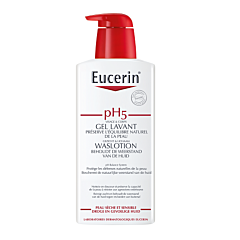 Eucerin pH5 Gel Lavant Peau Sèche & Sensible Flacon Pompe 400ml