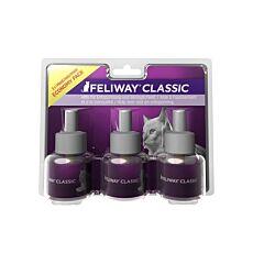 Feliway Classic Recharge Flacon PACK ECONOMIQUE 3 Mois - 3x48ml