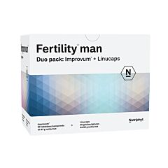 Fertility Man Improvum 60 Tabletten + Linucaps 60 Softgels