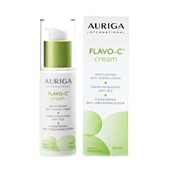 Auriga Flavo-C Crème Hydratante Anti-Âge Flacon Airless 30ml