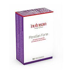 Nutrisan FloraSan Forte 30 Capsules Végétariennes