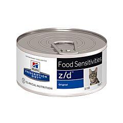 Hills Prescription Diet Food Sensitivities Z/D Kattenvoer 156g