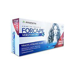 Arkopharma Forcapil Cheveux & Ongles 180 Gélules PROMO 2+1 Mois OFFERT