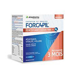 Arkopharma Forcapil Kératine+ 180 Gélules
