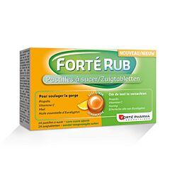 Forté Pharma Forté Rub Citroen 24 Keeltabletten