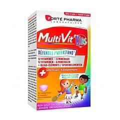 Forté Pharma MultiVit Kids Défenses Goût Grenadine 30 Comprimés à Croquer