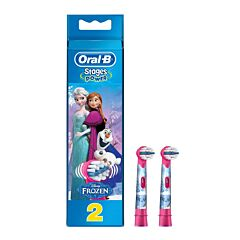 Oral-B Opzetborstel Stages Power Frozen 2 Stuks