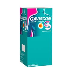 Gaviscon Antizuur-Antireflux Suspensie 600ml