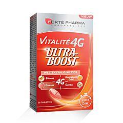 Forté Pharma Vitalite 4G Ultra Boost Ginseng 30 Tabletten
