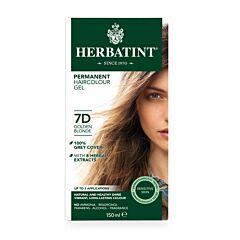 Herbatint Soin Colorant Permanent Cheveux 7D Blond Doré Flacon 150ml