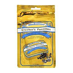 Grethers Pastilles Blackcurrant Cassis Sans Sucre Recharge 100g