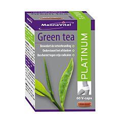 MannaVital Green Tea Platinum 60 V-Capsules