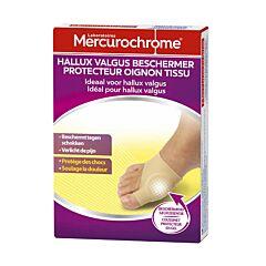 Mercurochrome Hallux Valgus Beschermer 1 Stuk