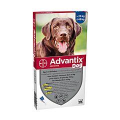 Advantix Dog Spot-On 400/2000 Chiens 25-40kg 6 Pipettes x 4,0ml