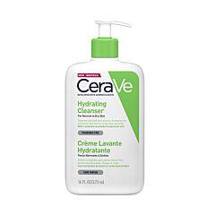 CeraVe Crème Lavante Hydratante Flacon Pompe 473ml