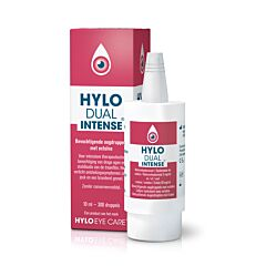 Hylo Dual Intense Collyre Hydratant Inflammations Chroniques Flacon 10ml