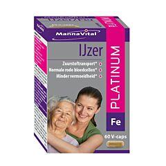 MannaVital Fer Platinum 60 V-Caps