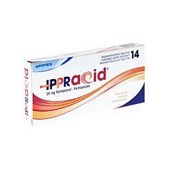 Ippracid 20mg 14 Comprimés Gastro-Résistants
