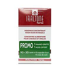 Iraltone Forte Cheveux & Ongles Duopack PROMO 90 + 30 Gélules GRATUITES