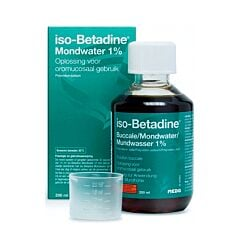 Iso-Betadine Buccale 1% Solution Buccale Flacon 200ml