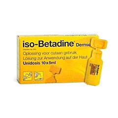 Iso-Betadine Dermicum 10% Oplossing 10x5ml