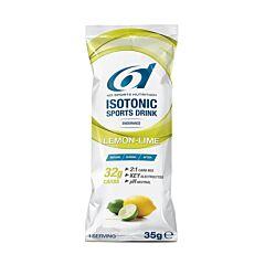 6D Sports Nutrition Isotonic Sports Drink Lemon-Lime Zakjes 14x35g