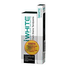 iWhite Dark Stains Dentifrice Blancheur Tube 75ml