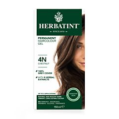 Herbatint Soin Colorant Permanent Cheveux 4N Châtain Flacon 150ml